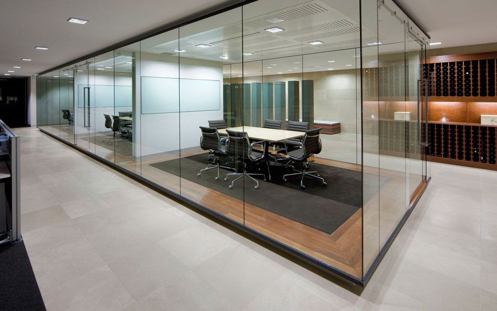Cristales para despachos | La Cristaleria de Zaragoza